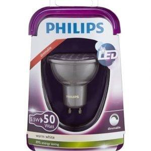 Philips Led Spottivalo 50 W Gu10 Lämmin Valkoinen