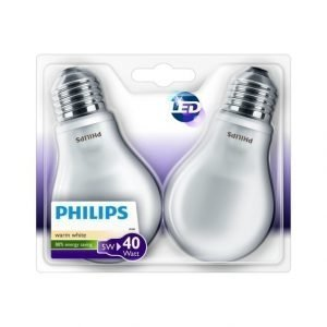 Philips Ledclassic 5 W E27 Lamppu 2 Kpl