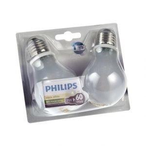 Philips Ledclassic 7 W E27 Lamppu 2 Kpl