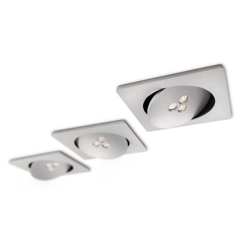 Philips SmartSpot upotettava valaisin alumiini 3x7.5W LED (57966/48/16)