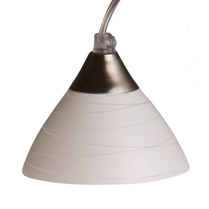 Pholc Ikkunavalaisin Astrid Ø 100x125 mm lasi valkoinen