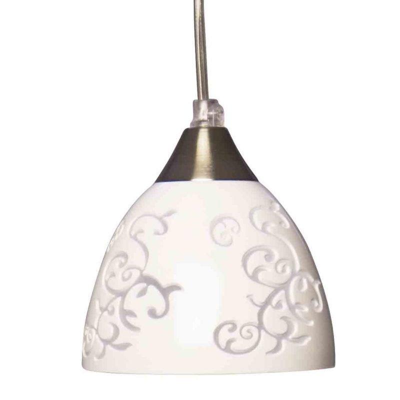 Pholc Ikkunavalaisin Grace Ø 130x100 mm lasi valkoinen