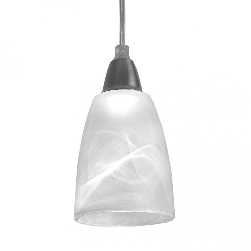Pholc Ikkunavalaisin Lilly Ø 90x150 mm valkoinen marmorikuvioitu