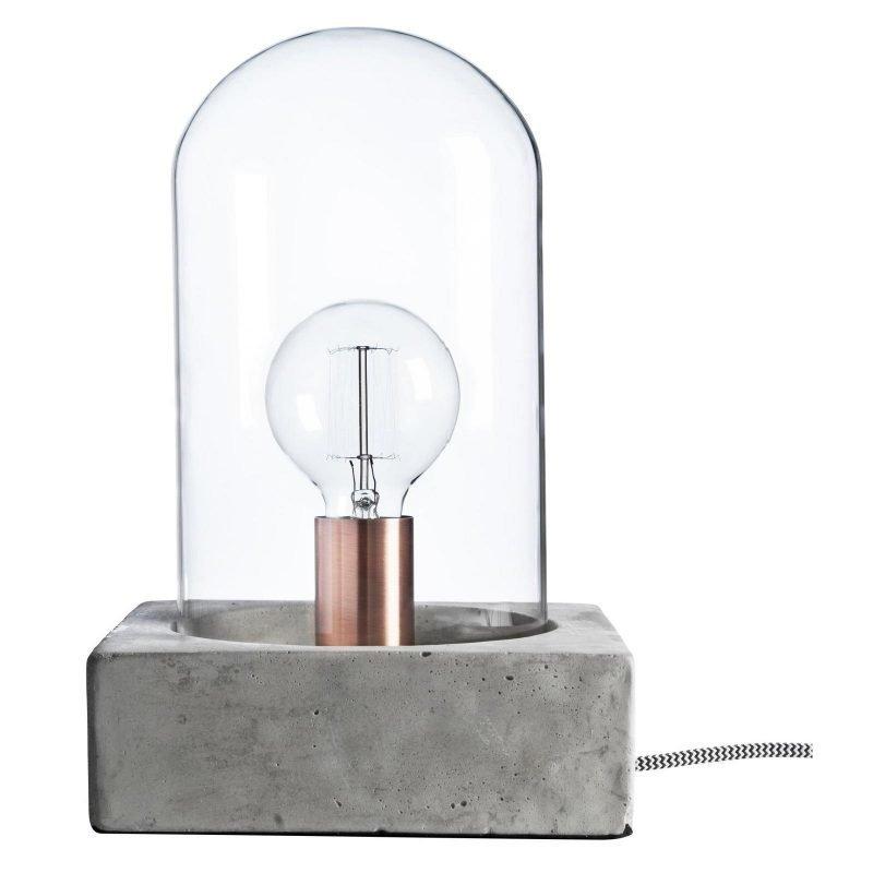 Pholc Pöytävalaisin Buddy Ø 200x320 mm betoni/lasi
