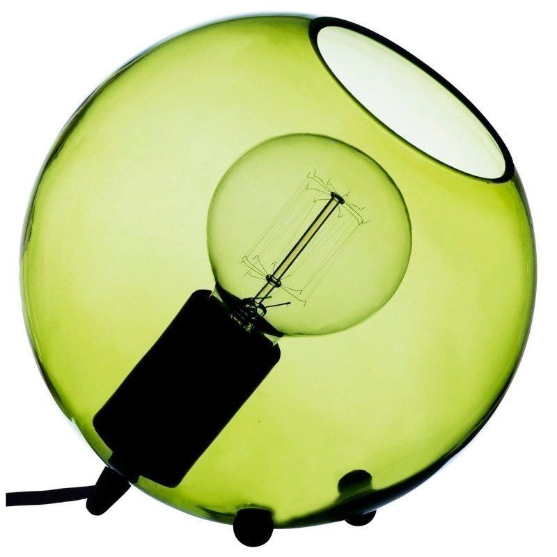 Pholc Pöytävalaisin Hollie Ø 200 mm vihreä lasi