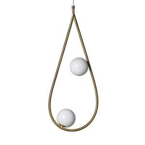 Pholc Pearls 65 Riippuvalaisin Messinki