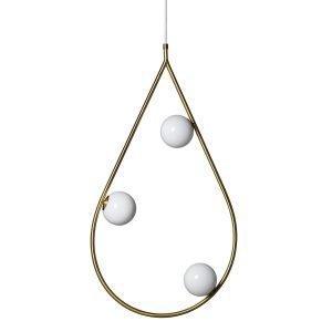Pholc Pearls Riippuvalaisin Messinki 80 Cm