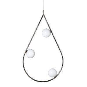 Pholc Pearls Riippuvalaisin Nickel 80 Cm