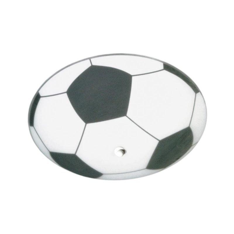 Pholc Plafondi Fotboll Ø 360x170 mm valkoinen/musta
