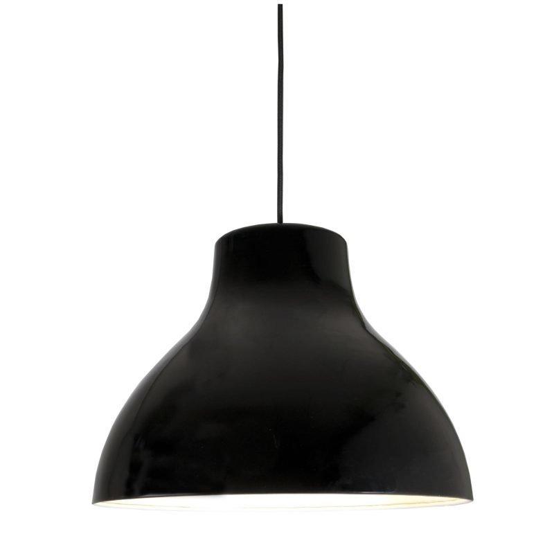 Pholc Riippuvalaisin Bert Ø 380x300 musta ulko/valkoinen sisä
