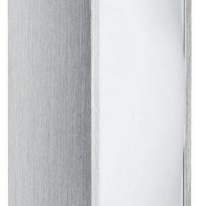 Plafondi Bound 280x280x88 mm harjattu alumiini/valkoinen