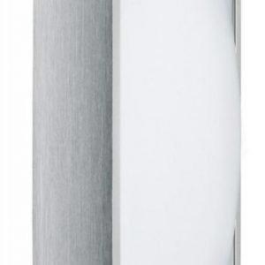 Plafondi Bound 420x420x98 mm harjattu alumiini/valkoinen