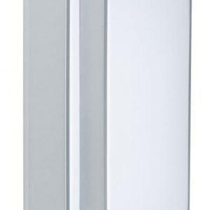 Plafondi Two-Step 430x940x90 mm hopea/valkoinen