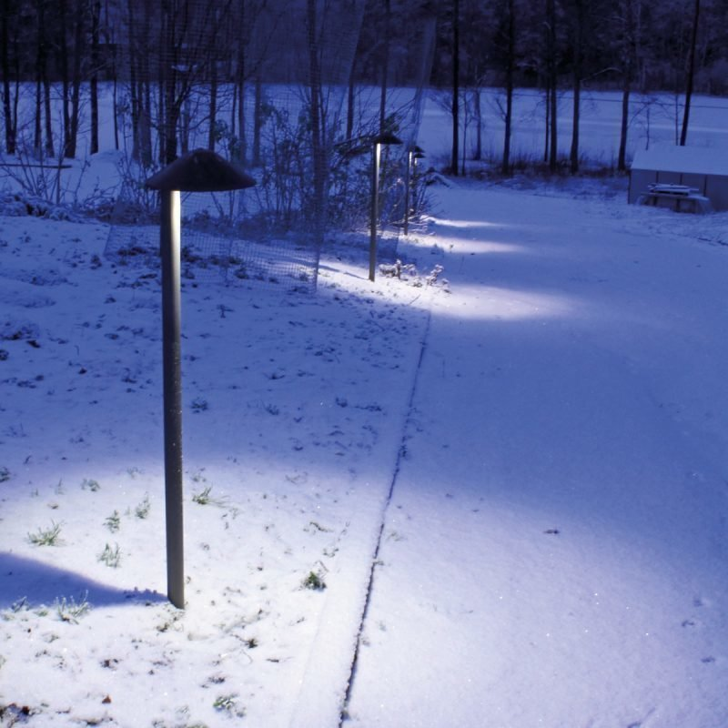 Pollarivalaisin Sonza LED Ø 200x1000 mm valkoinen