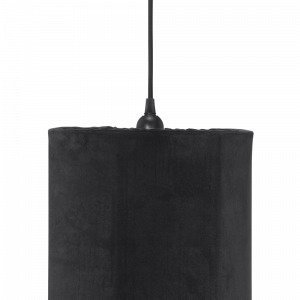 Pr Home Classic Cylinder Lampunvarjostin Musta 24 Cm