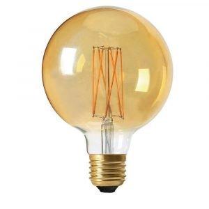 Pr Home Elect Led 3 Step Dim Globe Lamppu Kulta 125 Mm