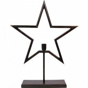 Pr Home Farm Star On Base Pöytätähti 80cm Musta