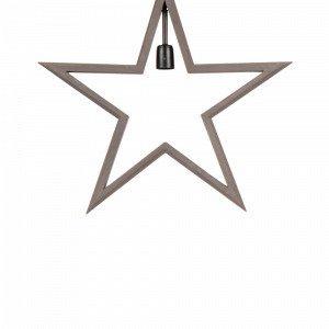 Pr Home Farm Star Valotähti Harmaa 59 Cm