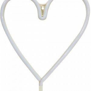 Pr Home Heart Led Seinävalaisin Valkoinen