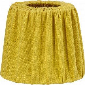 Pr Home Mia Lampunvarjostin Keltainen 20 Cm