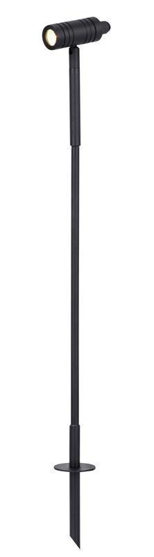 Puutarhavalaisin Spotlight LED Ø 110x330-630 mm musta 12V