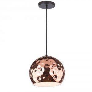 Pyöreä Kupari LED Ripustusvalaisin Suuri