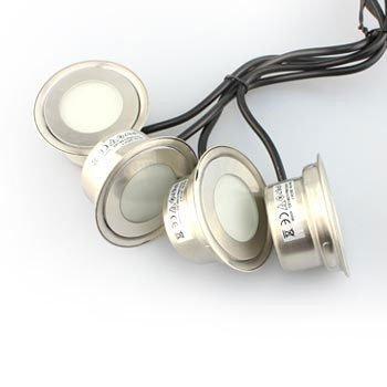 Pyöreä LED Koristevalo Ryhmä 6kpl paketti