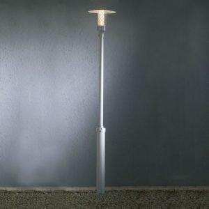 Pylväsvalaisin 403-310 Nova harmaa alumiini GU10 korkeus 2210 mm