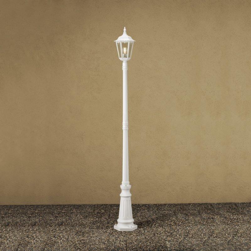 Pylväsvalaisin 7233-250 Firenze valkoinen matta 2200 mm