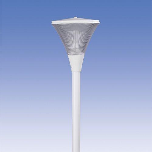 Pylväsvalaisin Aaria AA01 IP44 60W valkoinen