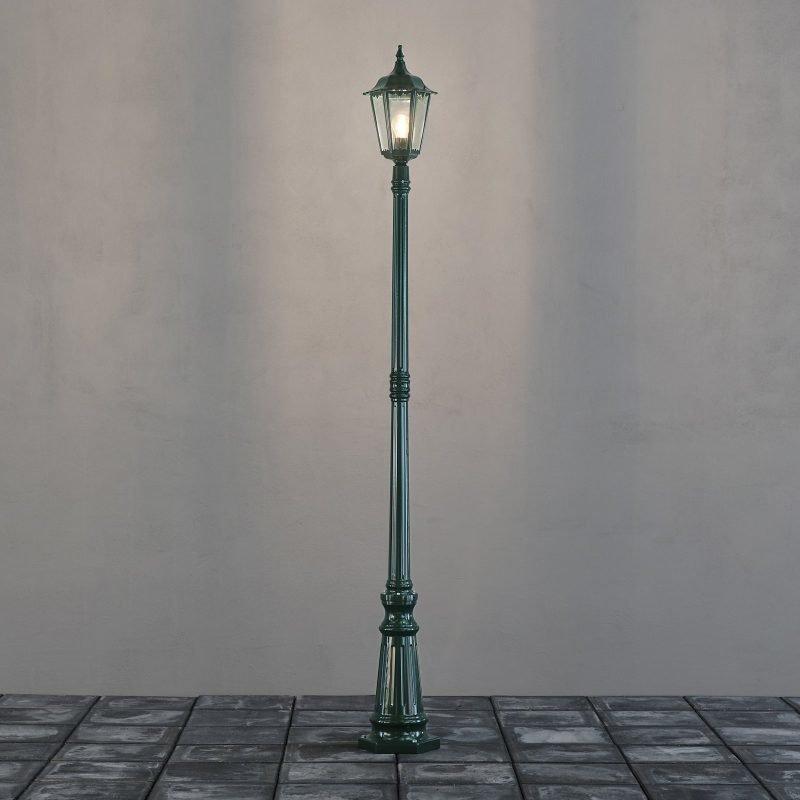 Pylväsvalaisin Firenze 7233-600 Ø 250x2100 mm vihreä
