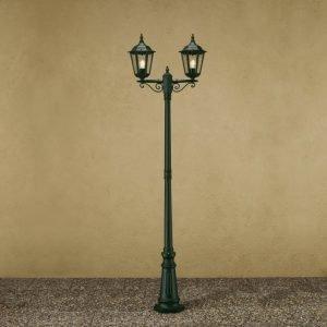 Pylväsvalaisin Firenze 7234-600 250x630x2200 mm 2-haarainen vihreä
