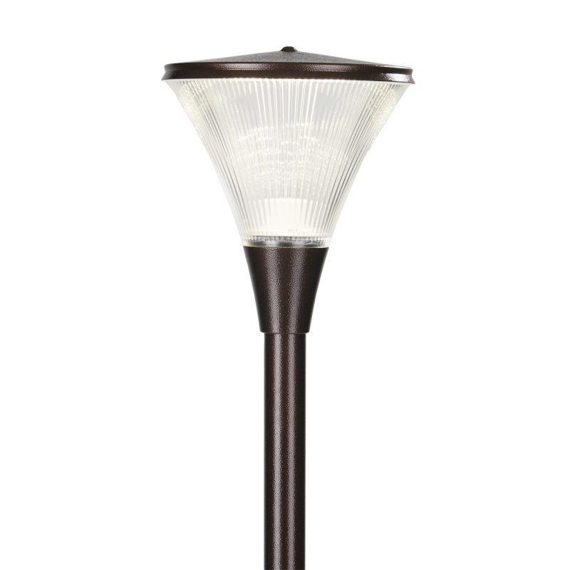 Pylväsvalaisin Luxe LED Ø 300x344 mm antiikkipronssi + pylväs 1