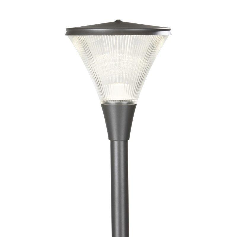 Pylväsvalaisin Luxe LED Ø 300x344 mm grafiitinharmaa + pylväs 1