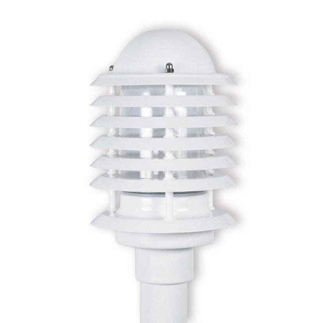 Pylväsvalaisin Majakka Ø 160x262 mm valkoinen + pylväs 1