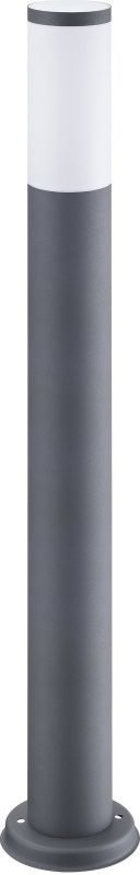 Pylväsvalaisin Polux Oslo 20W 230V IP44 Ø 120mm harmaa korkea
