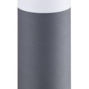 Pylväsvalaisin Polux Oslo 20W 230V IP44 Ø 120mm harmaa matala