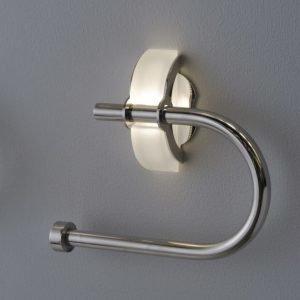 Pyyhe/paperiteline TH 100 LED 165 mm valaistu 1W rosteri/satiinilasi IP44
