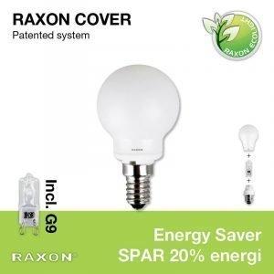 Raxon Lamppu 33w Globe Cover Ø45 E14