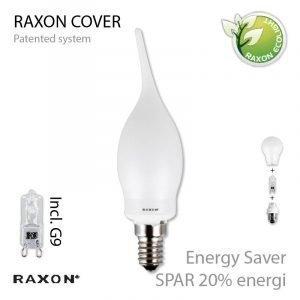 Raxon Lamppu 48w Flame Cover Himmennettävissä E14