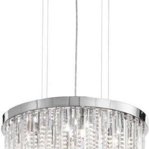 Riippuvalaisin Calaonda 7x33W Ø 50 cm kromi kristalli