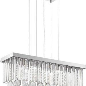 Riippuvalaisin Calaonda 7x33W 69 cm kromi kristalli