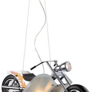 Riippuvalaisin Lucide Harley 40W + 35W 230V IP20 kromi