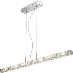 Riippuvalaisin Paul Neuhaus Jola LED 18x1W 230V IP20 kromi/kristalli