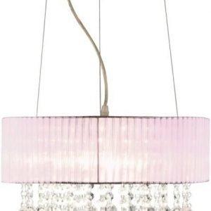 Riippuvalaisin Scan Lamps Madelene Ø 380x320 mm vaaleanpunainen
