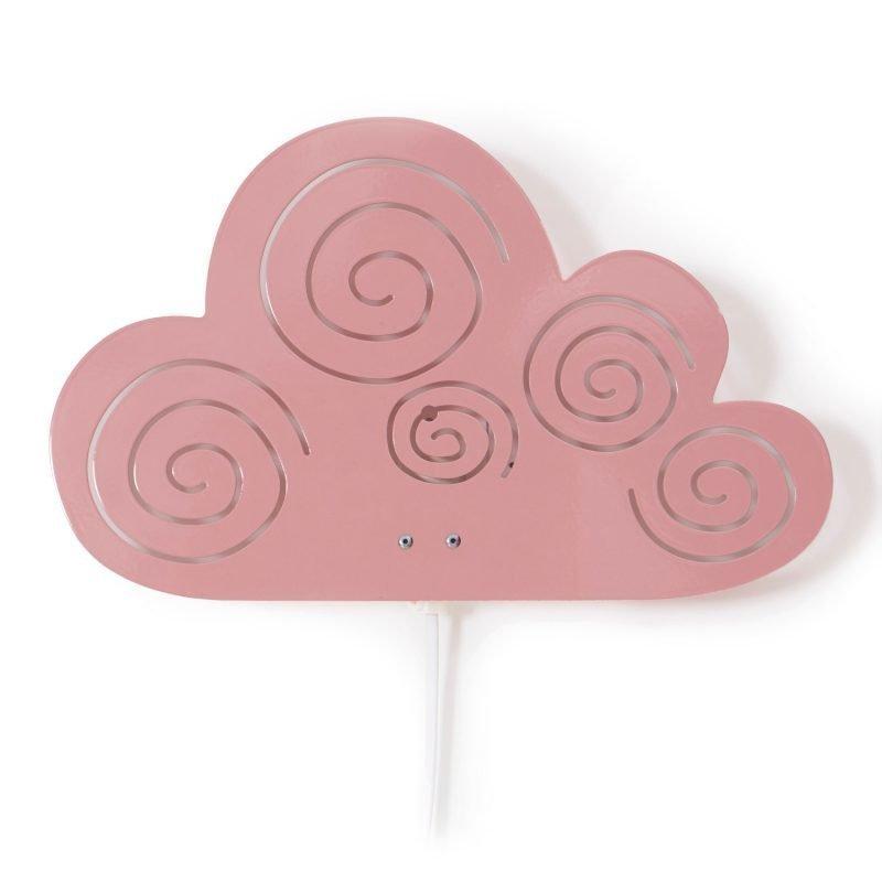 Roommate Seinävalaisin Cloud Vaaleanpunainen