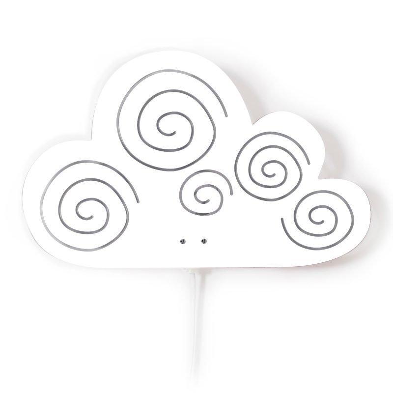 Roommate Seinävalaisin Cloud Valkoinen