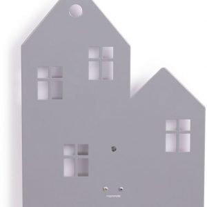 Roommate Seinävalaisin Town House Harmaa