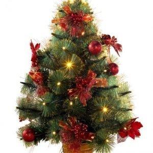 Rwh Led Joulukuusi Punainen