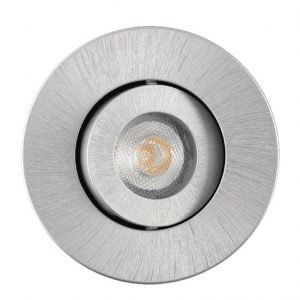 SYNERGIE LED 450LM GU10 brushed aluminium 830 Dimmable